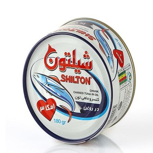 تن ماهی شیلتون(پک سه عددی)
