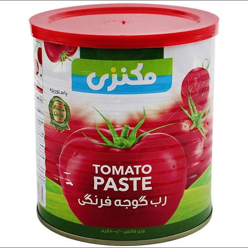 رب گوجه فرنگی مکنزی(پک 3 عددی)