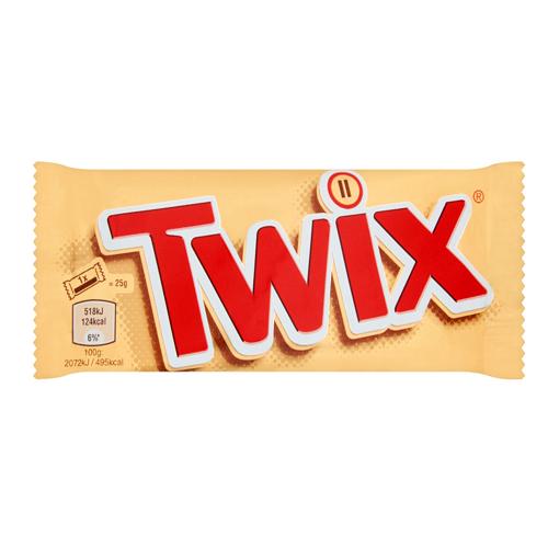 شکلات بار تویکس دوبل